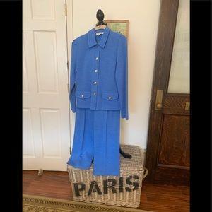 St. John knit suit